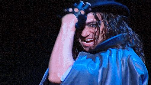 "Constantine Maroulis as Henry Jekyll and Edward Hyde in ""Jekyll & Hyde: The Musical."""