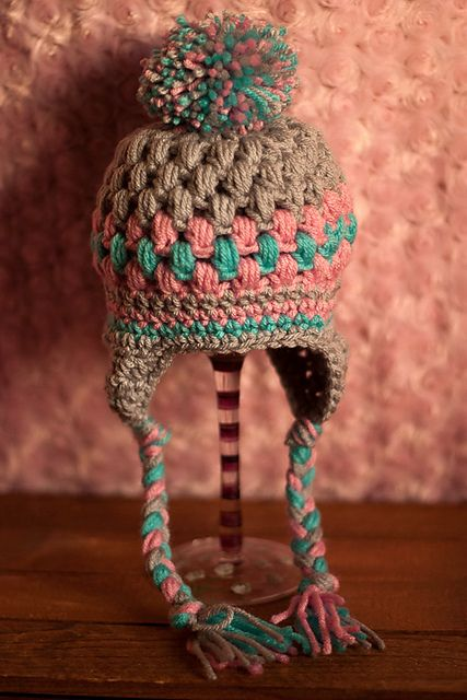Ravelry: Talini Hat Pattern 0-12mos. pattern by Darla Allen I love the colours!