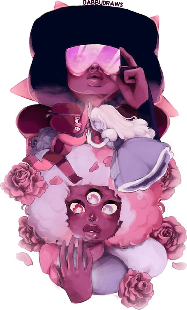 OP: dabbudraws: guess what it's even mORE RUBYPPHIRE | Steven Universe