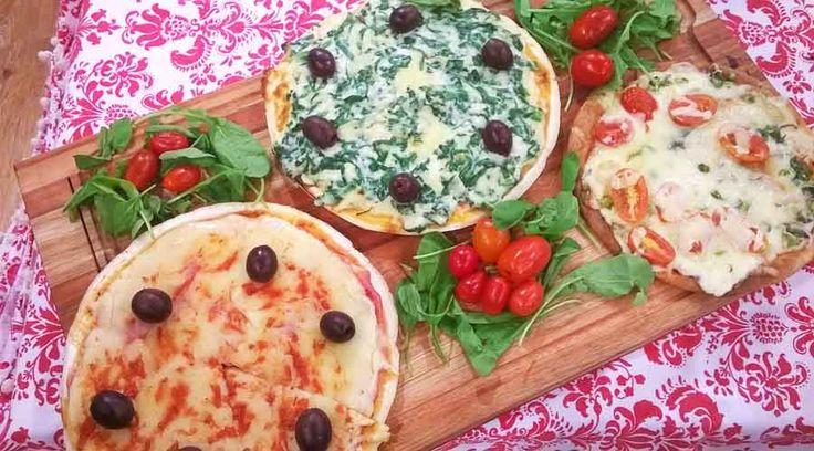 Pizzas sin gluten, aptas para celíacos por Silvina Rumi