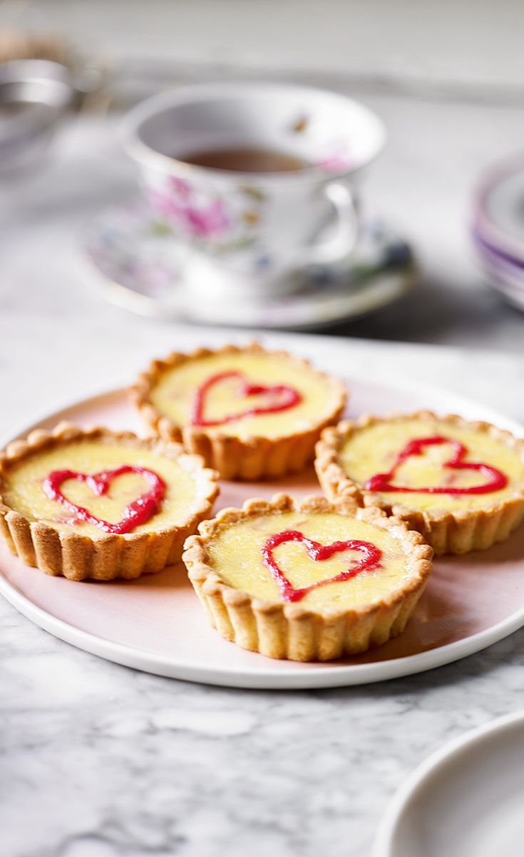 Try Martha Collison's Rhubarb and Custard tarts recipe -  it's a classic combination of sharp rhubarb set into a thick, creamy custard.