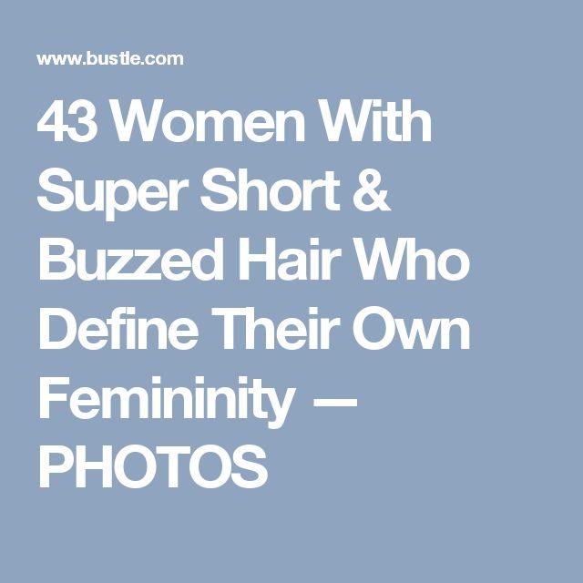 43 Women With Super Short & Buzzed Hair Who Define Their Own Femininity — PHOTOS