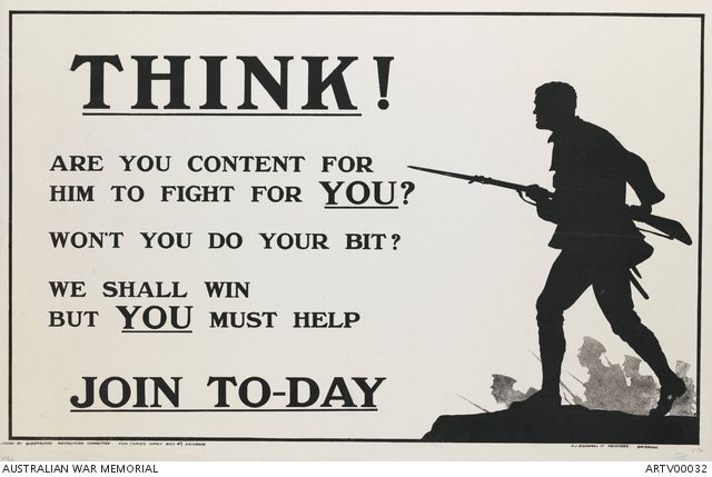 Think! Are you content for him to fight for you?