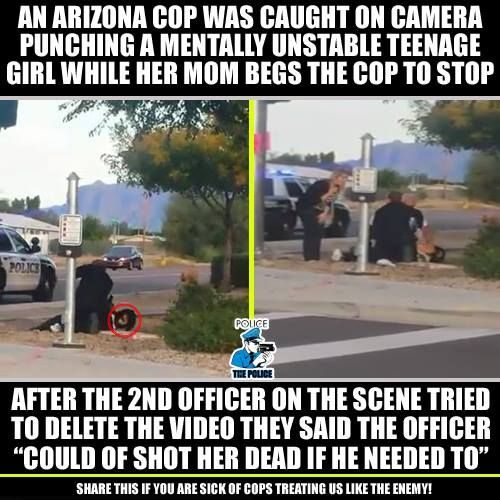 To protect and serve what ever happened to the integrity of our