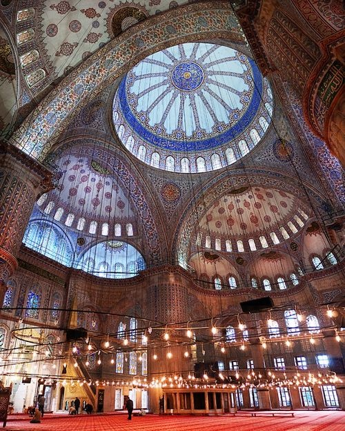 Blue Mosque. Istanbul.