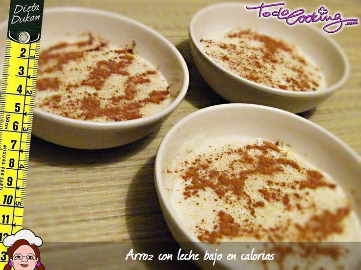Con todo el sabor del arroz con leche tradicional pero completamente adaptada para la dieta Dukan. No te puedes perder este arroz con leche Dukan
