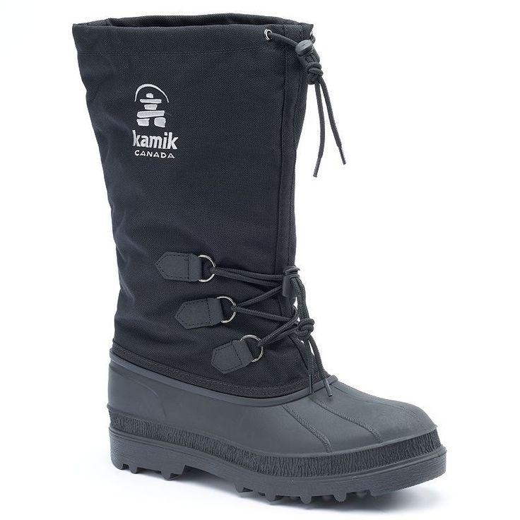 Kamik Canuck Men's Waterproof Winter Boots, Size: