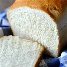 Amish White Bread - Makes baking your own bread each day simple and fun because the recipe is easy and the result is delicious. Makes two loaves. The extra loaf makes a terrific gift- few people get the treat of homemade bread these days!