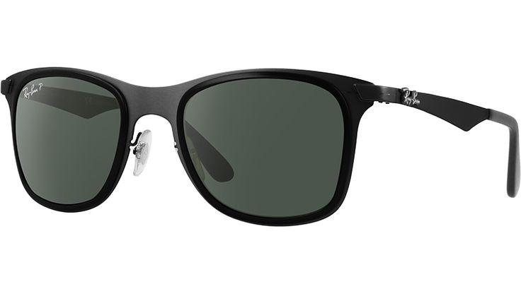 Ray-Ban Sunglasses Collection - RB3521M - WAYFARER FLAT METAL POLAR | Ray Ban® Official Site - International