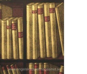 Fornasetti Ex Libris Tapet