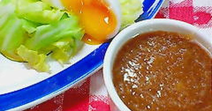 血液サラサラになる♪新たまねぎのノンオイルドレッシング♪新玉ねぎの甘さで驚きのおいしさ★温、生野菜に★お豆腐にもOK★
