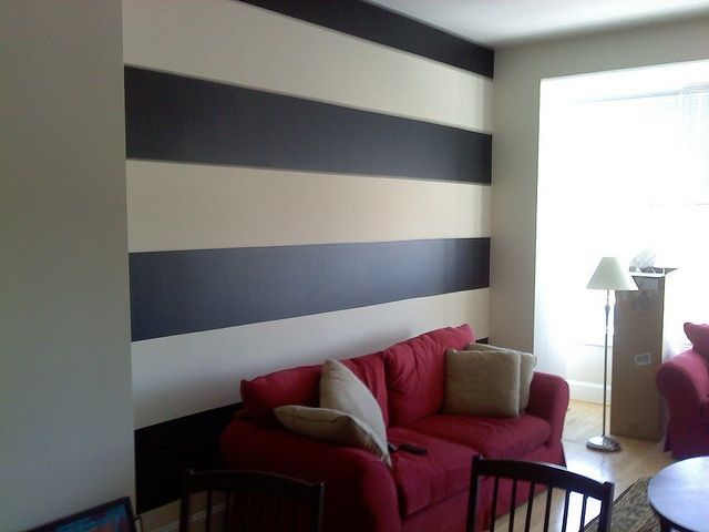 65 best Painted or Stencilled accent wall design images on
