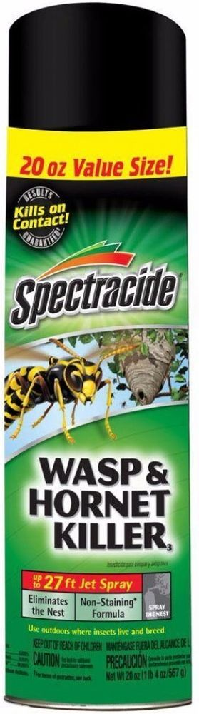 Spectracide Aerosol Spray Killer Eliminates Hornets And Wasps #Spectracide #areosol #hornets #wasps