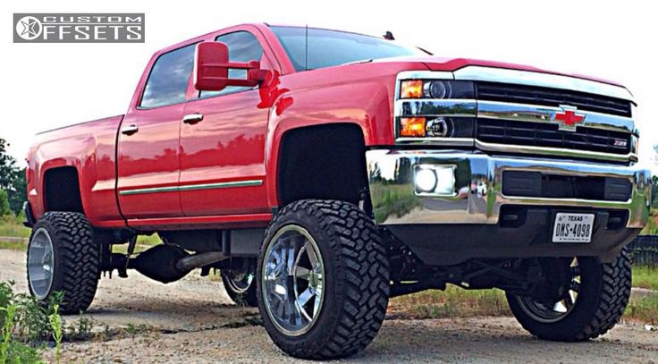 77 best Chevy Silverado Rocky Ridge Custom Lifted Trucks ...