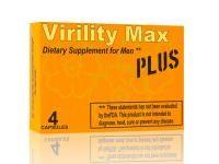 Virility Max Plus potencianövelő  A Virility Max kapszula kúraszerő használata helyre állíthatja, növelheti a potenciát, lerövidítheti az aktusok közötti időtartamot. Segíthet az idegrendszeri kimerültség és a fáradság leküzdésében, így mind mentálisan, mind fizikailag lényegesen javul a terhelhetőségük mindazoknak, akik szedik a Virility Max-ot.