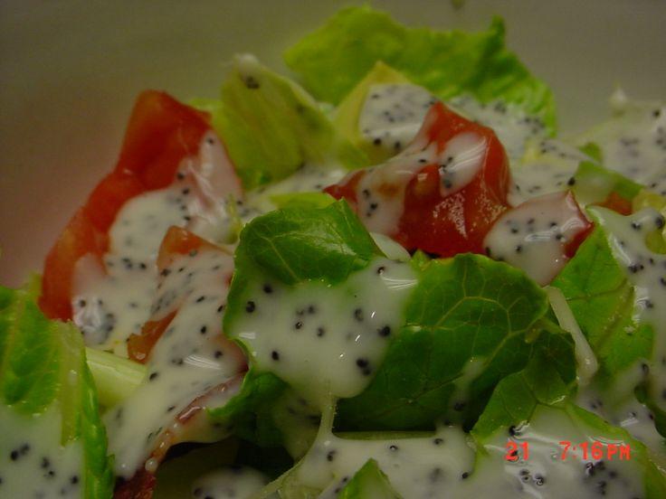 Aunt Pam's Poppyseed Salad Dressing | salate | Pinterest