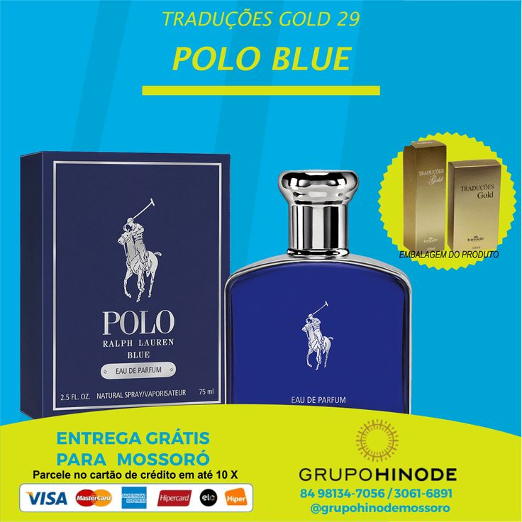 Esse perfume possui fragrância fresca especiarada para homens ambiciosos e carismáticos.    #HinodeMossoró #Hinode #HinodeLifeStyle #Vip #Imparável #GrupoHinode    WhatsApp: 84 98134 7056    Acesse nosso site: www.hinodemossoro.com