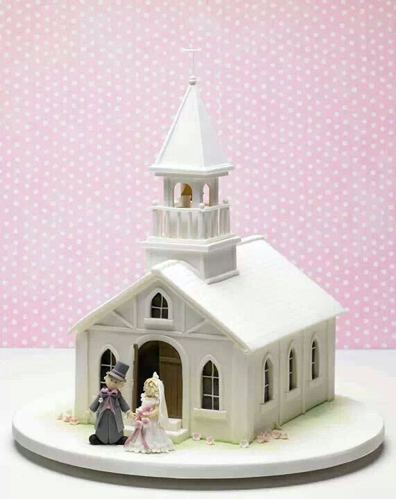 14 best Church cake images on Pinterest | Gingerbread ...