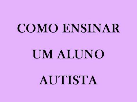 Você já conheceu alguém com diagnostico de autismo?O que você notou sobre eles?A maioria das crianças autistas têm problemas socialmen...
