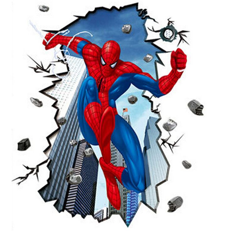 Aliexpress.com : Buy sticker wall Spiderman childrens bedroom