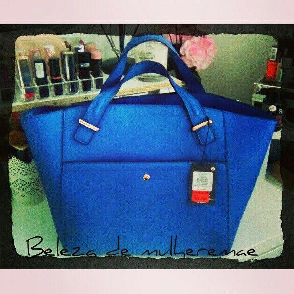 #blue #bluebag #carteira #mala #fashion