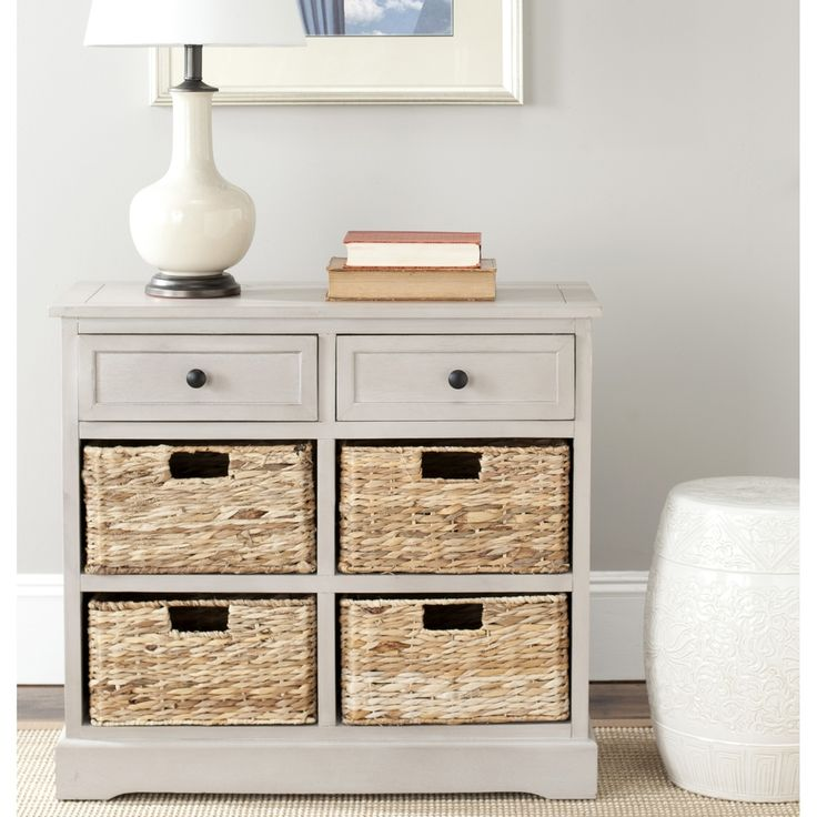 Perfect for master bedroom end tables... Safavieh Cape Cod 6-Drawer Grey Storage Unit | Overstock.com Shopping - The Best Deals on Decorative Organizers