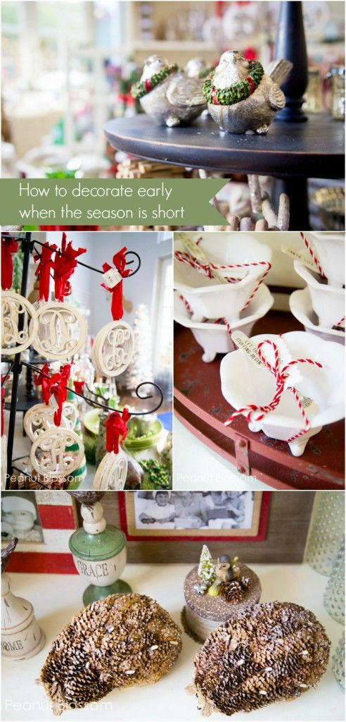 Thanksgiving is late this year which makes for a shorter season. Love these great tips for decorating early. If you're going to go to the effort, might as well enjoy it for a decent amount of time!!