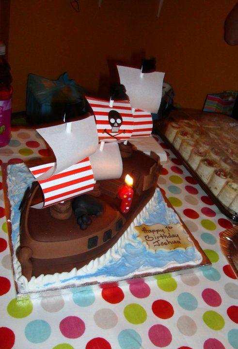 Birthday Cake Ideas Pirate