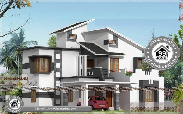 Architects In Bangalore Double Story Modern House Plans 100 Designs House Arch Design Modern House Plans Home Design Floor Plans