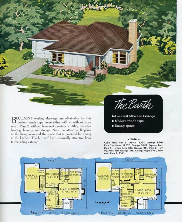 17 best images about 1930 1965 minimal traditional on for Moderate house plans