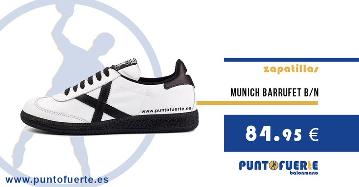Los porteros necesitan buenas zapatillas para rendir a gran nivel. Las #Munich #Barrufet ofrecen una comodidad excelente en pista: http://www.puntofuerte.es/es/zapatillas-balonmano/1152-zapatillas-munich-barrufet-blanco.html#/combinaciones_de_color-blanco_negro/talla_calzado-44 Unas clásicas inspiradas en el mítico David Barrufet que nunca pasan de moda #zapatillas #trainers #balonmano #handball Más información: www.puntofuerte.es