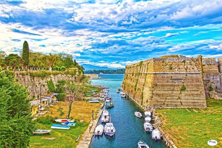 Corfu Old Forterss