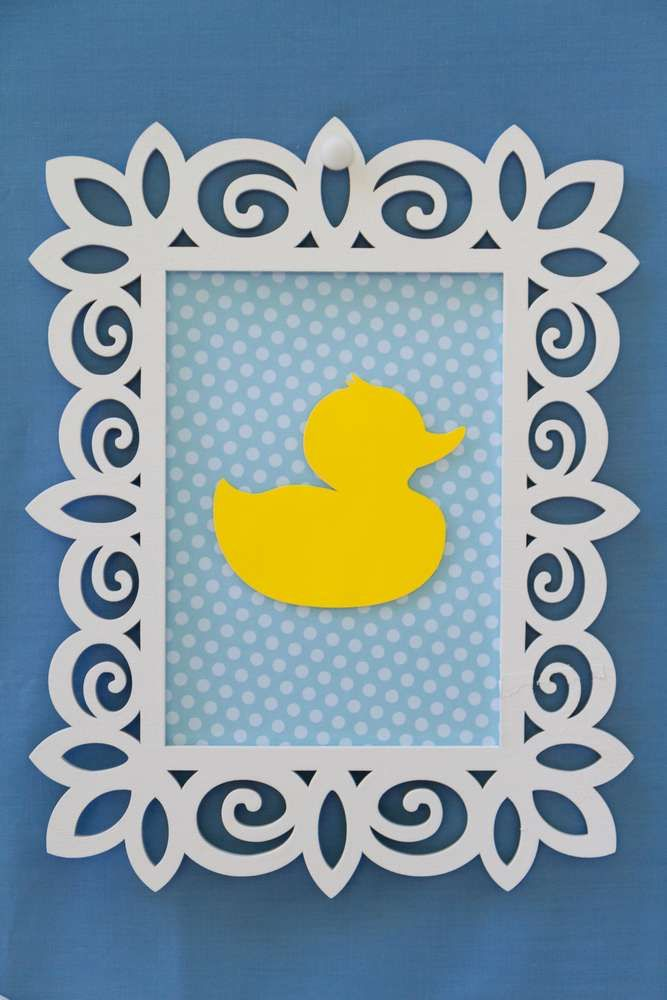 Rubber Duckies Baby Shower Party Ideas | Photo 4 of 27 | Catch My Party