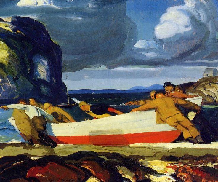 George Bellows, Big Dory, 1913