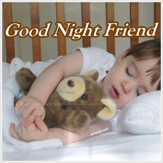 Good night with charming cuddles
