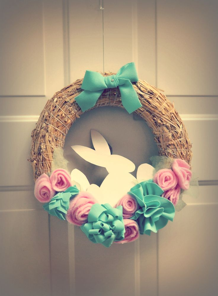 My Easter doorwreath