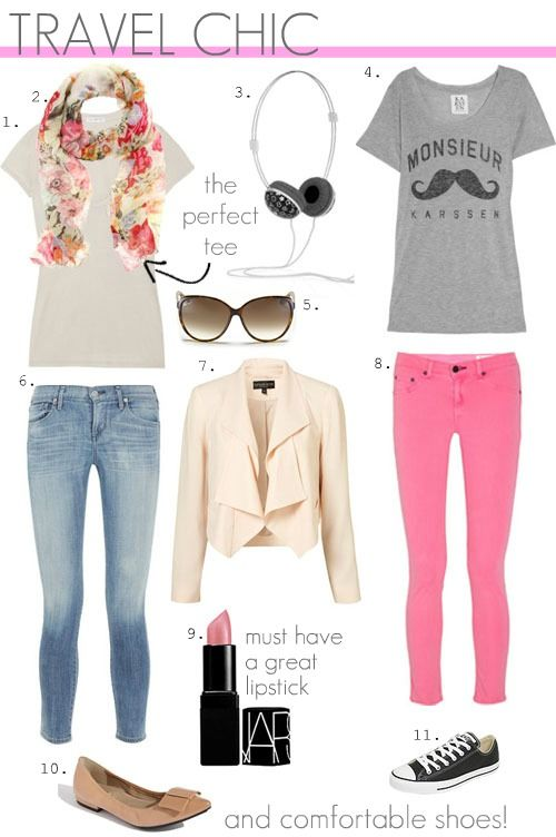 travel chic outfits for a weekend getaway or city break via @TravlFashnGirl