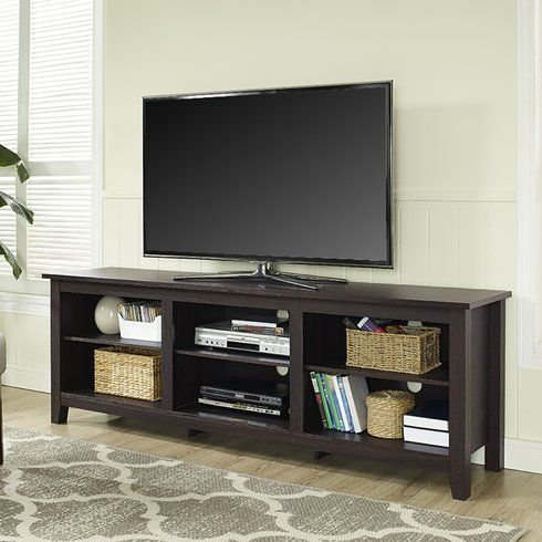 Beachcrest Home Sunbury 70 Tv Stand Avec Cheminee En Option Avec