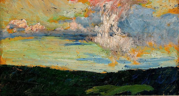 bofransson:    HELMER OSSLUND 1866-1938 The Cloud