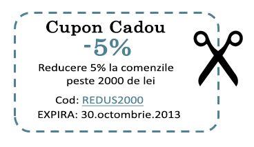 Cupon Cadou Mobila - 5%