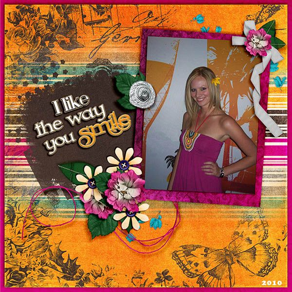 Sept 2017 Mixology at GDS, featuring What I like about You digital scrapbook packs by Janece Suarez Designs