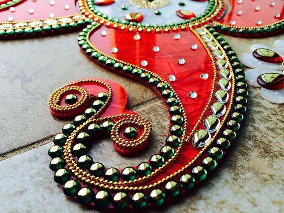 Acrylic Rangoli with a stunning Marble look, which we loving call as Marble Rangoli. ************************** DIWALI SALE