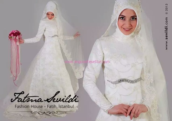 Turkish wedding gown by Fatma Sevildi
