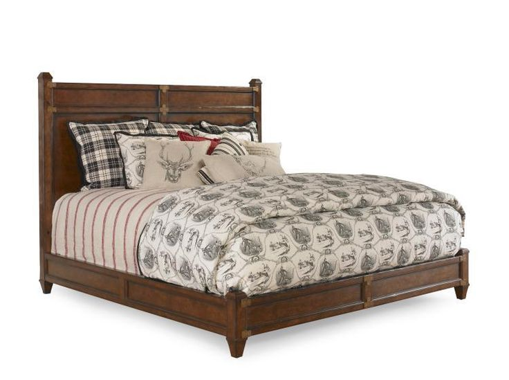 bobs furniture platform bed bob timberlake king high rock platform bed by century 14636