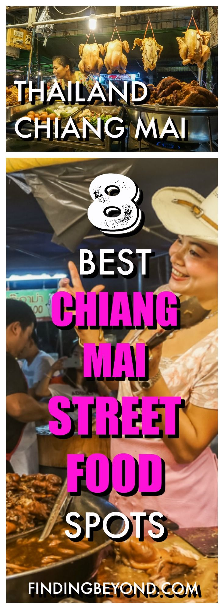 There's so much delicious street food in Chiang Mai. It can be overwhelming! In this post we show you our 8 best Chiang Mai street food spots. Get stuck in!