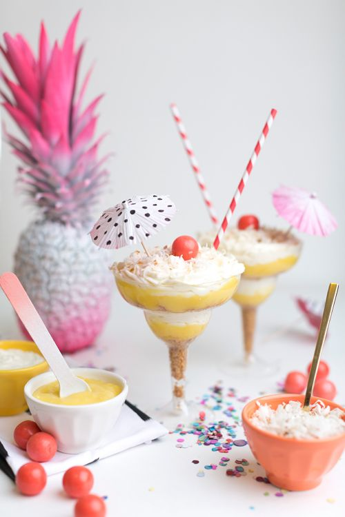 summer fun: Pina Colada, Cheesecake Trifles, Carlyna Carlyna, Fashion Dresses, Colada Cheesecake, Carlyna Fashion, Piña Colada, Cheesecake Recipe, Joining Carlyna