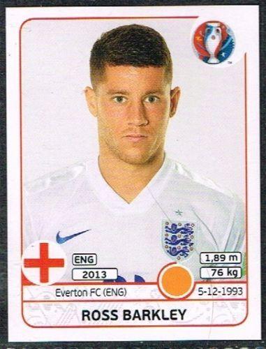 UEFA EURO 2016 Ross Barkley- 141 #euro2016 #Barkley #midfield #stickers #panini #england