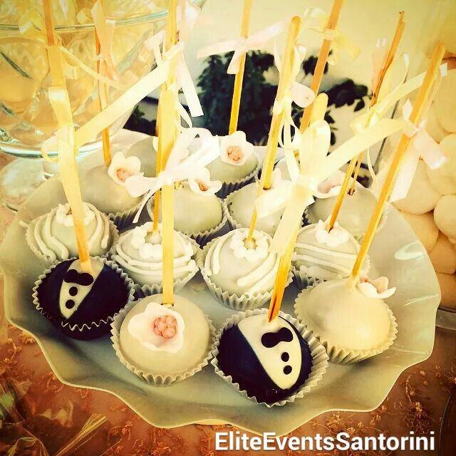 Dusty #pink #wedding for our lovely #couple #bride & #groom #cakepops #bridal #candy #table #detail  #Mr&Mrs #vintage #candytable #eliteeventssantorini #decoration #event #planning #santorini #santoriniwedding #santoriniweddings #sneakpeek  www.eliteeventssantorini.com