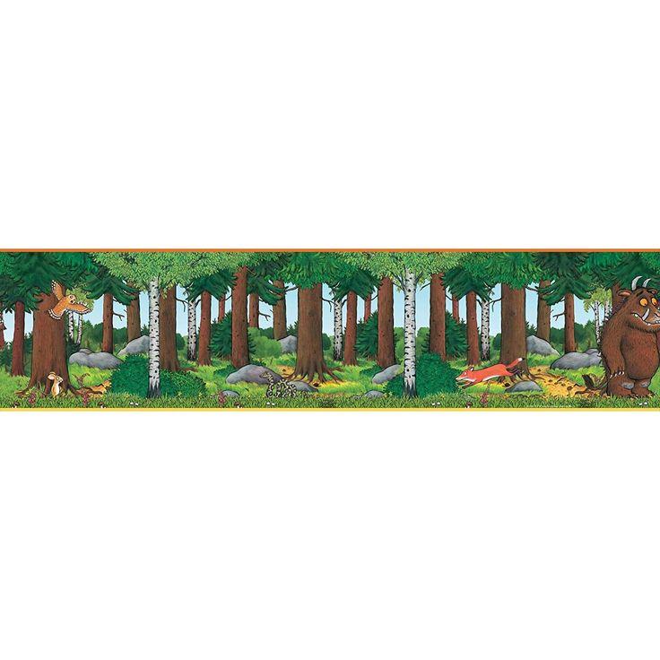 Страшный зверь самоклеющиеся обои границы, Мульти, 5 м: Амазонка.ко.Великобритания: кухня & дом