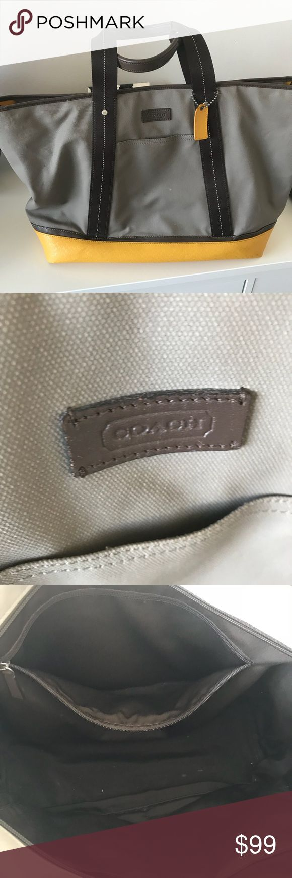 Coach Duffle Bag Very good condition Coach Bags Travel Bags